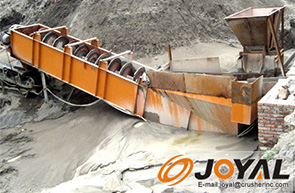 Mineral ore washing equipment