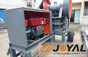 Diesel Engine Crusher
