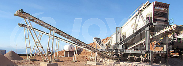 Calcite Processing Plant