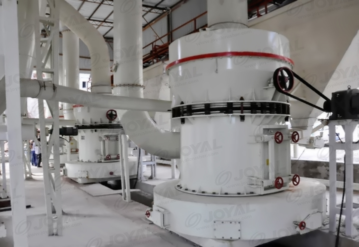 30tph Calcium Carbonate powder grinding line in India