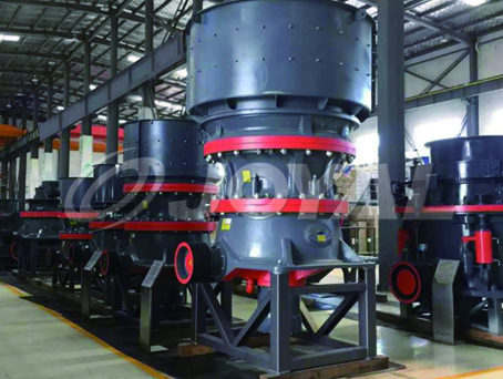 HPZ Single Cylinder Hydraulic Cone Crusher